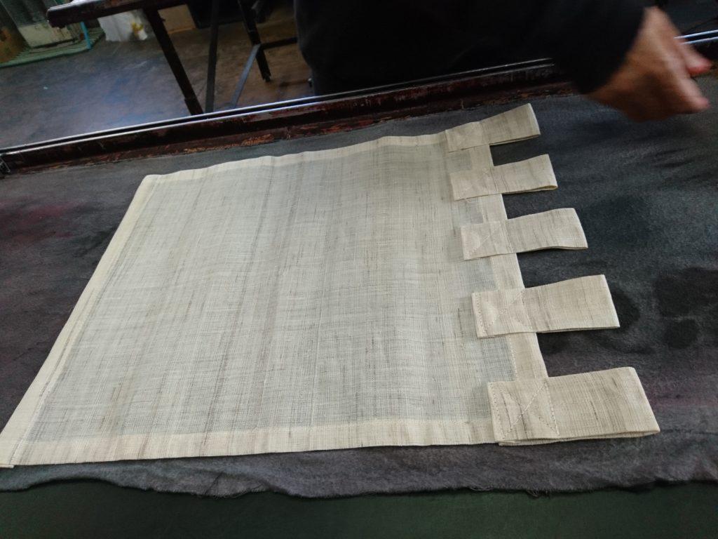 生平麻のタペストリーの画像